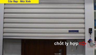 Cách mở cửa cuốn Đài Loan khi bị mất điện nhanh nhất